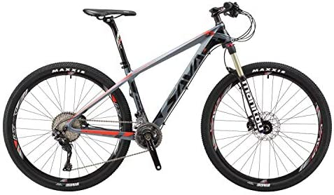 SAVADECK 700 Bicicleta de montaña de Fibra de Carbono 26