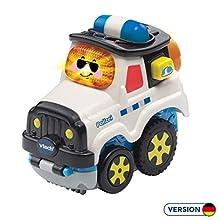 Vtech 80-515704 Tut Tut Baby Flitzer Press & Go - Juguete de policía, Multicolor