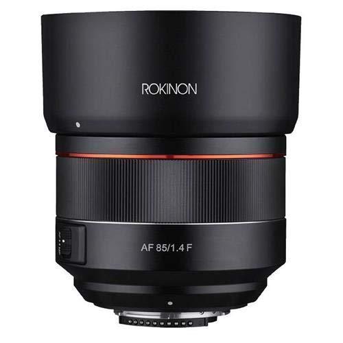 ROKINON 85mm F1.4 Auto Focus Full Frame Weather Sealed High Speed Telephoto Lens for Nikon F Mount