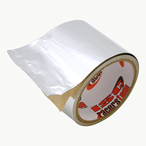 ISC Racers Tape RTAF325 ISC RTAF High Heat Aluminum Foil Tape: 3'' x 25 ft, Silver by ISC Racers Tape (Image #2)