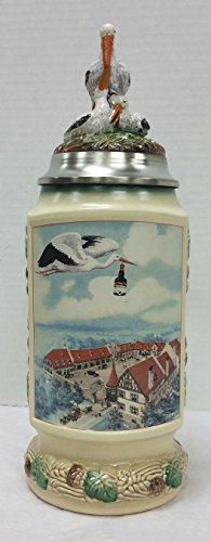 1999 Anheuser-Busch Heritage Series The Bauernhof Stein (Anheuser Busch Collector Steins)