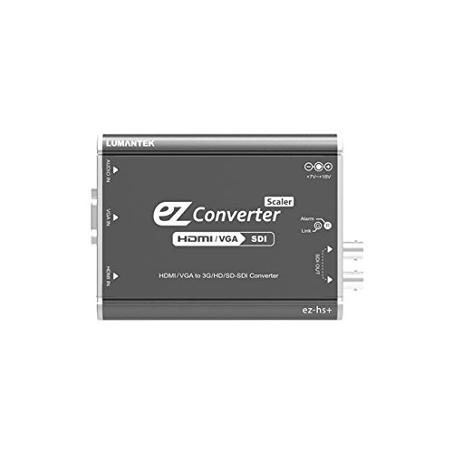 - Lumantek HDMI/VGA to 3G/HD/SD-SDI Converter with Scaler