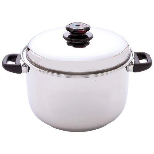 Control de vapor 12-quart olla sopera de acero inoxidable ...