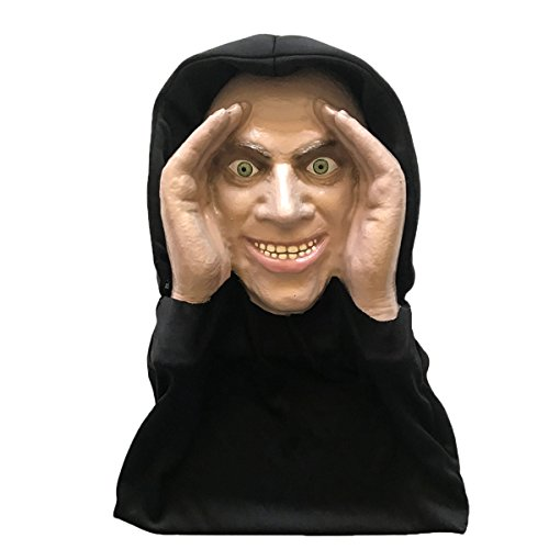 Halloween Decoration - Scary Peeper - Hitchhiker - The True-to-Life Scary Prop that is Scary Realistic]()