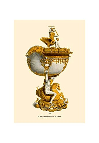 """""""Cup in Her Majesty's Collection at Windsor"""" Print (Black Framed Poster Print 20x30)"""