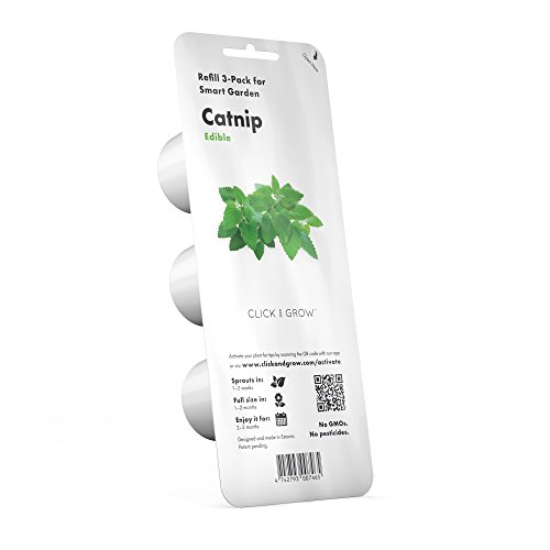 Click and Grow Smart Garden Catnip Plant Pods, 3-Pack by Click and Grow