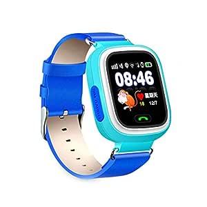 12shage Inteligente Reloj para Niños, Smart Watch Phone GPS Reloj ...