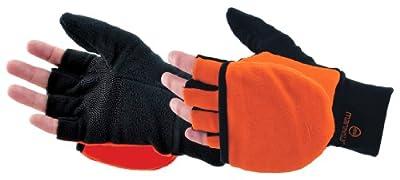 Manzella Glo - Mitt 40 grams of Thinsulate Insulation Convertible Gloves Blaze Orange