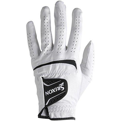 Srixon Men's Cabretta Leather Regular Golf Glove, Medium/Large, Worn on Left Hand