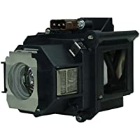 AuraBeam Economy Epson ELPLP46 Projector Replacement Lamp with Housing