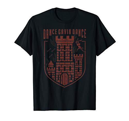 Dance Gavin Dance Graphic Design T-Shirt