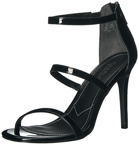 Charles Black David Dress Charles Sandal Ria by Women's pwrF1xgpq