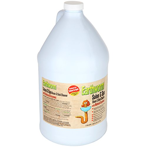 Earthworm Salon & Spa Drain and Sink Cleaner - Drain Opener - Natural Enzymes, Environmentally Responsible, Safer for Pets and Kids - 1 Gallon by Earthworm (Image #3)
