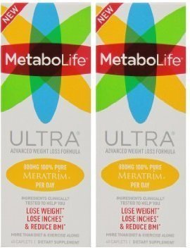 Twinlab Metabolife Ultra, 45 Caplets (Pack of 2) (45 Caplets)
