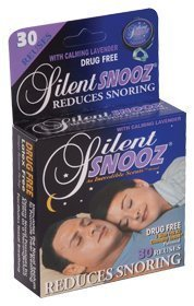 Incredible Silent Snooz Snore Relief - Lavender (30 Reuses)