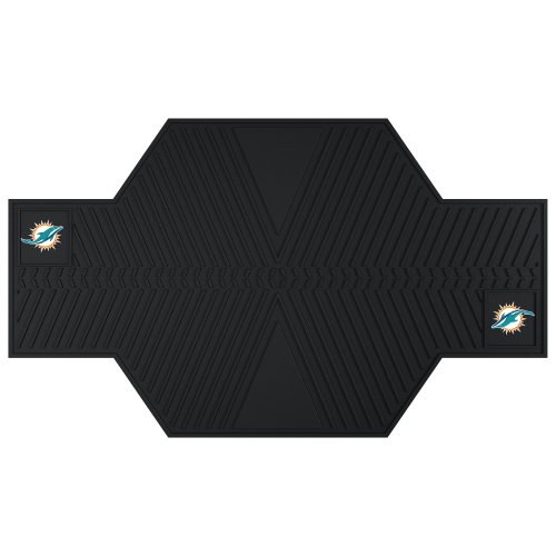 FANMATS 15323 NFL Miami Dolphins Motorcycle Mat by Fanmats