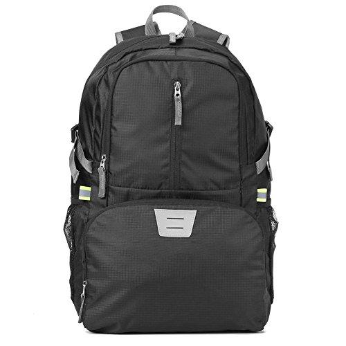 Foldable Packable Backpack Hiking Travel Daypack, 30L Durable Outdoor Camping Nylon Backpacks Little Bag for Women Men ()