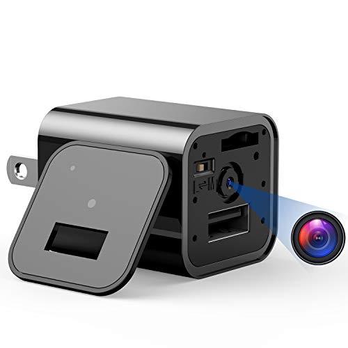 Mini Camera Charger – 1080P USB Hidden Camera, Nanny Camera with Motion Detection, Non WiFi Surveillance Camera for…