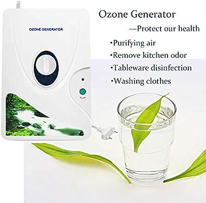 ANSUNEL Ozonizador doméstico Digital generador de ozono ionizador ...