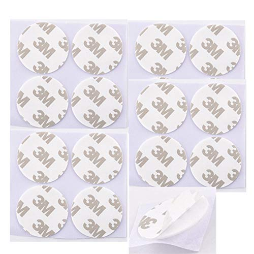 15 Pack Adhesive Stickers Replacement Pads Adhesive Kit - Adhesives for Cell phone Stand car mount holder/wall hook (15 Pack)