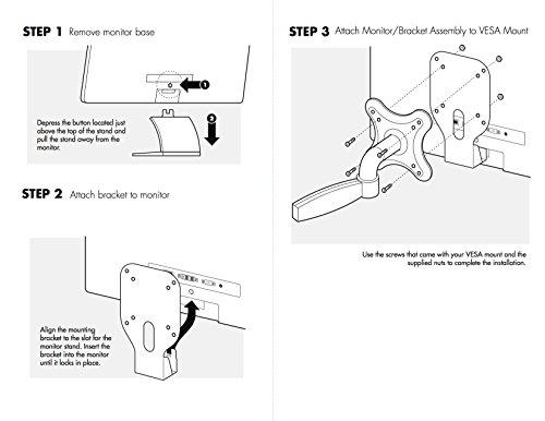 Vesa Mount Adapter Bracket For Hp Pavilion 20xi 20bw