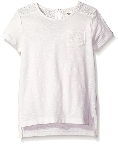 Osh Kosh Girls' Kids Fashion Tops, Ivory, 7
