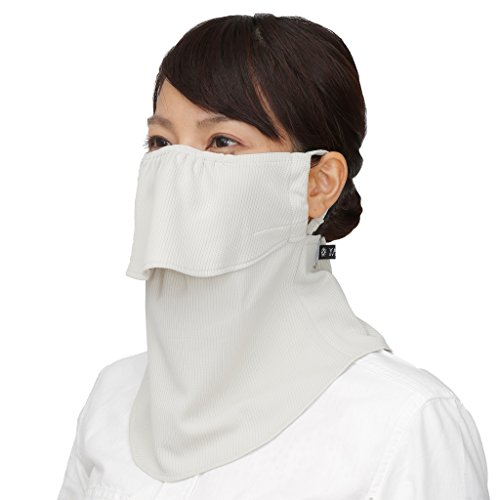 (Yake-nu UV Sun protection mask for face,neck. 550Beige