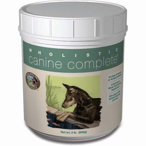 Wholistic Canine Complete (2 lbs Tub) by Wholistic Pet Organics