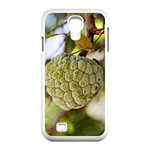 Okaycosama Funny Samsung Galaxy S4 Cases Custard Apple for Men, Samsung Galaxy S4 Case Luxury, [White]