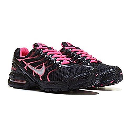 Nike Air Max Torch 4 Femmes Chaussures De Course Noir, Rose Vif