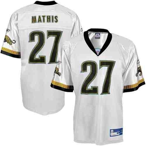 NFL Football Trikot Jersey JACKSONVILLE JAGUARS Rasheed Mathis white Premier rbk
