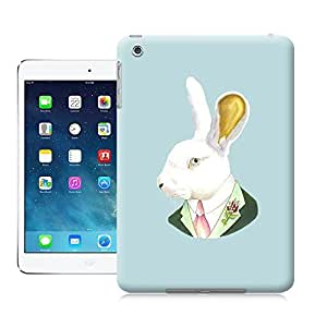 Unique Phone Case White Rabbit print Hard Cover for ipad mini cases-buythecase
