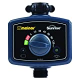 Melnor 65082-AMZ Sunrise Once-A-Day Water Timer and 3 pcs Multi-Adjustable Sprinkler Gardening, Amazon Gift Set