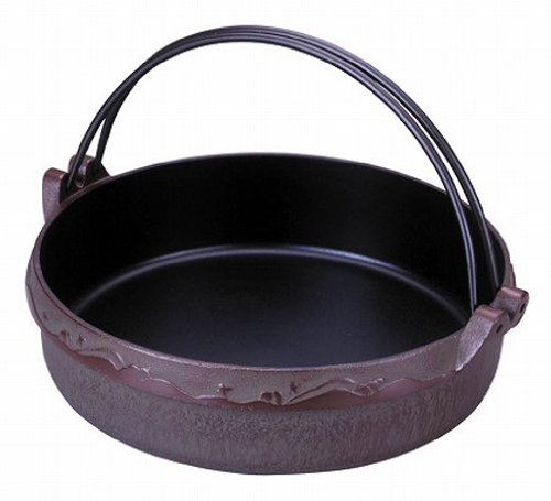 Japanese Sukiyaki Pot of Traditional Nambu Ironware