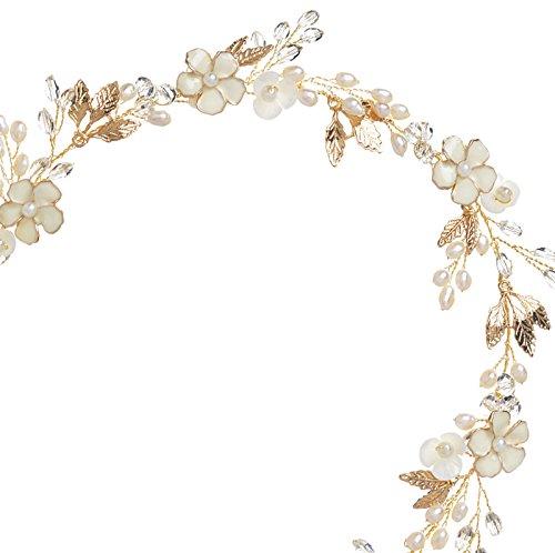 Gold Enamel Wreath - 8