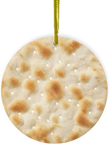 Rikki Knight Water Cracker Design Round Ornament/Car Rear View Mirror Hanger
