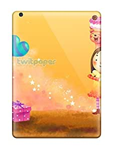 New Ipad Air Case Cover Casing(happy Girl Celebrant )