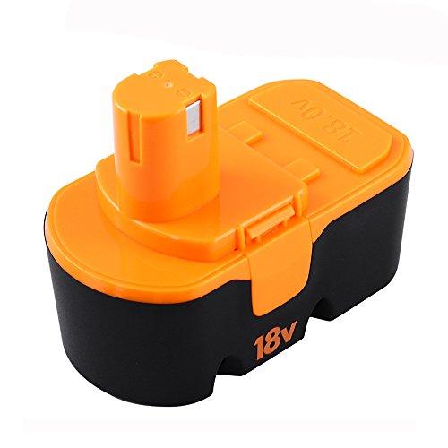 Fhybat 18V 3.6Ah Battery for Ryobi One+ ABP1801 P100 P102 P104 P105 P101 High Capacity Cordless Power Tools