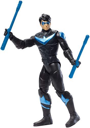 DC Comics Batman Missions Nightwing Action Figure, Multicolor