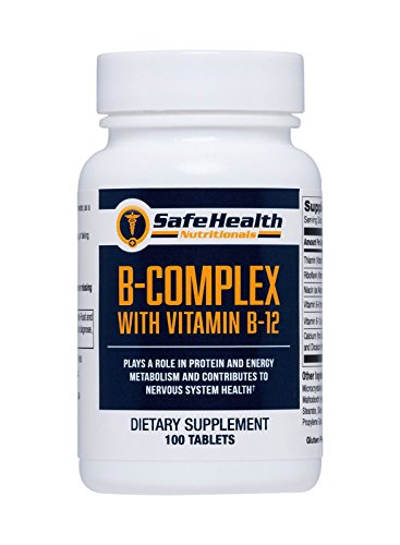 Safe Health Nutritionals B-Complex with Vitamin B-12 Tablet by Safe Health Nutritionals (Image #4)