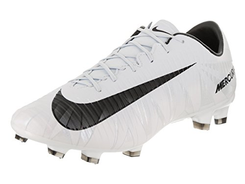 Nike Mercurial Veloce III CR7 FG mens soccer-shoes 858736-401_8.5 - Blue Tint/Black-White-Blue Tint by NIKE