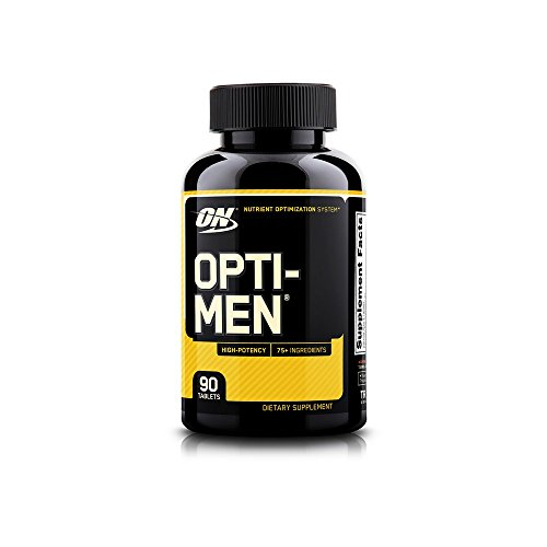 OPTIMUM NUTRITION Opti-Men Daily Multivitamin Supplement, 90 Count ()