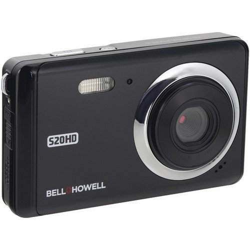 """Bell+Howell 20 Megapixels Digital Camera with 1080p Full HD Video with 3"""" LCD, Black (S20HD-BK)"""