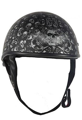 Best Low Profile Dot Half Helmet - 7
