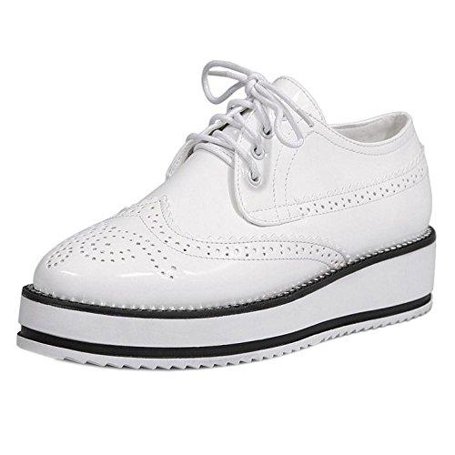 Mid Women KemeKiss Shoes Wedge White Heels 58AZpqw