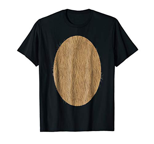 Deer Belly Tshirt Halloween Costume Rudolph DIY Shirt]()