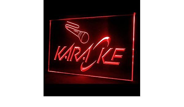 140003 Karaoke Box Interactive Entertainment Hot Song Microphone LED Light Sign