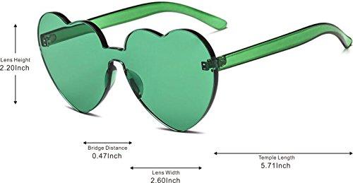 Sol Para Retro Lente de amp;L Adulto Gafas Coloreado Hombres GLASSES Green Gafas Unisex Mujeres J Gafas FR7qngww