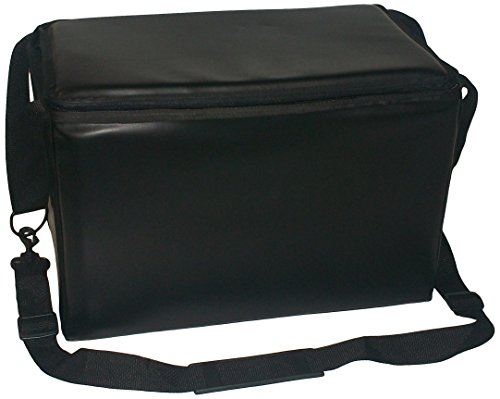 TCB Insulated Bags HWK-1-Black Food and Beverage Carriers: Hawking Vending Bag without Dispensing Lid, 12'' x 18'' x 12'', Black by TCB Insulated Bags