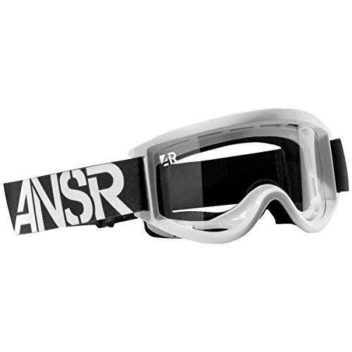 Answer Racing Nova Youth Dirt Bike Motorcycle Goggles Eyewear - White / One Size